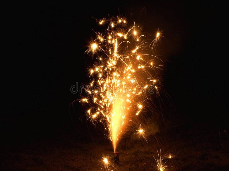 Download Sparkly Fireworks stock photo. Image of explosion, rockets - 160174