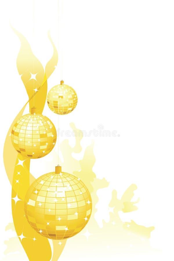 Sparkly Party-Dekorationen lizenzfreies stockbild