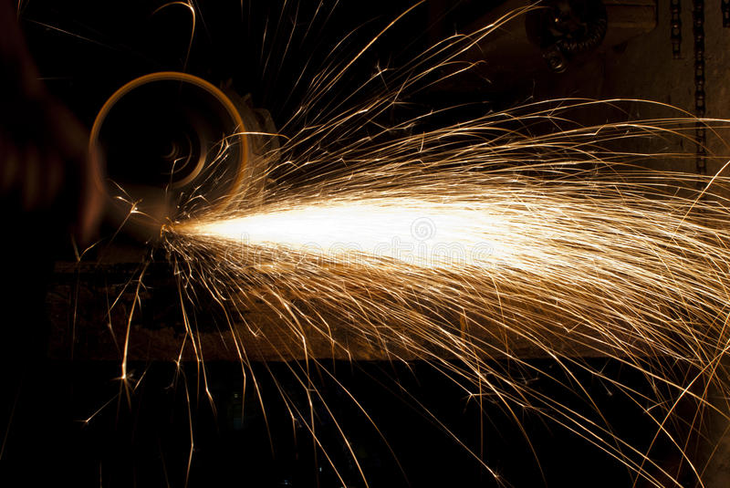 Sparks stock photography