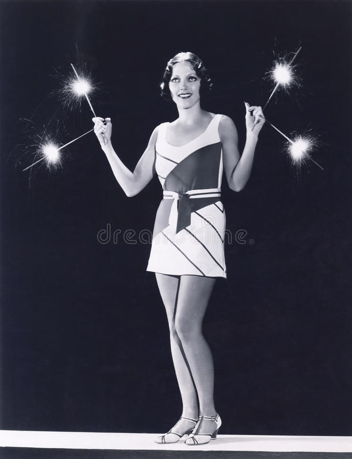 Sparks flying stock images