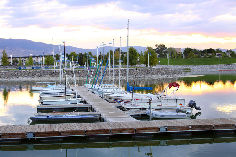Download Sparks Marina dock stock photo. Image of lake, community - 10992438