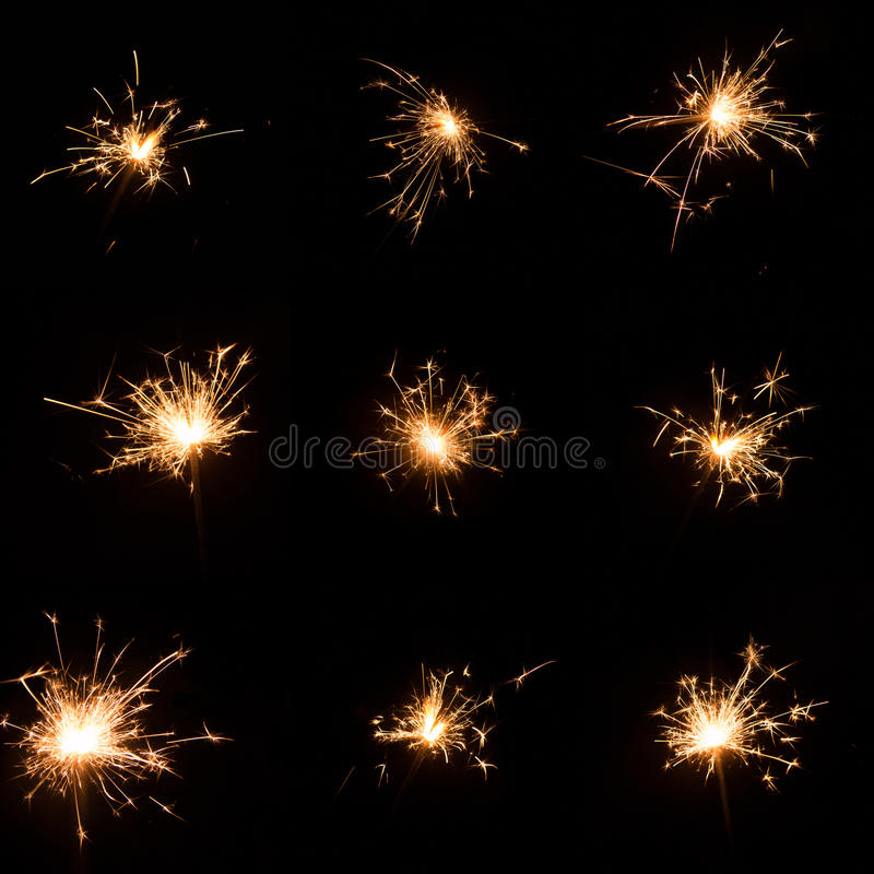 Sparks royalty free stock photography