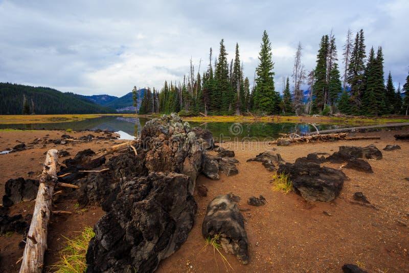 Sparks See-zentrale Oregon-Wildnis lizenzfreies stockfoto