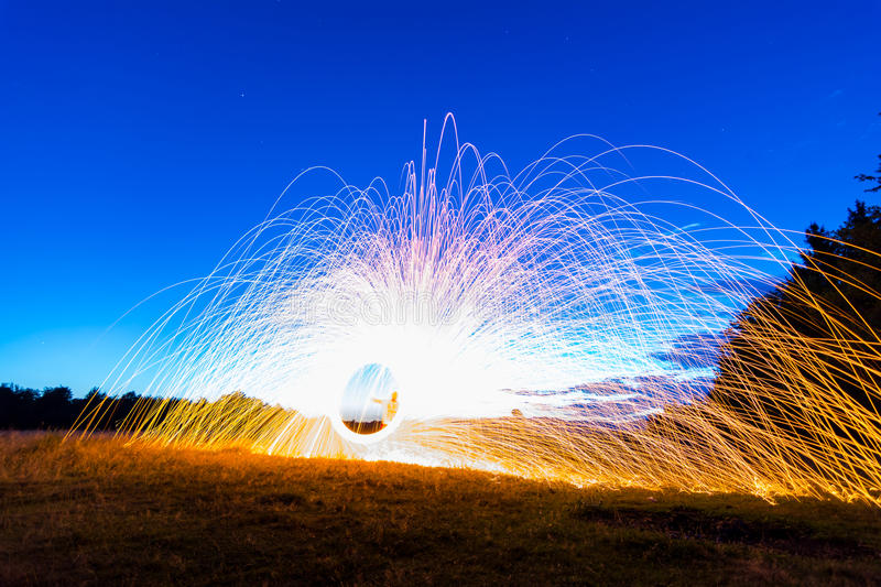 Sparks stock images