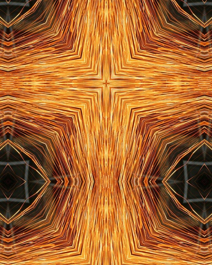 Sparks From Welder S Grinder7 Stock Images