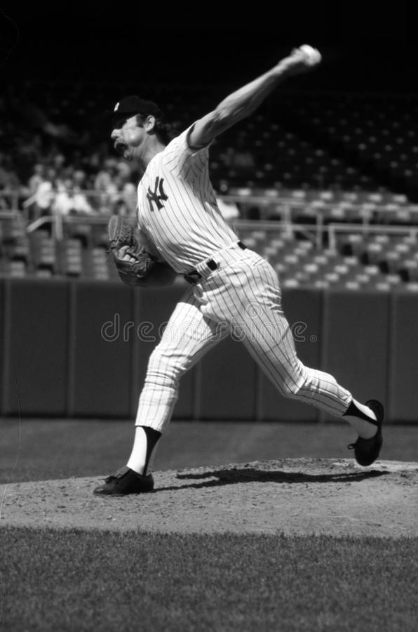 Sparky Lyle New York Yankees stock foto