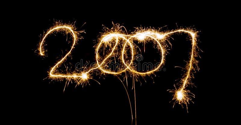 Sparlking 2007 immagini stock libere da diritti