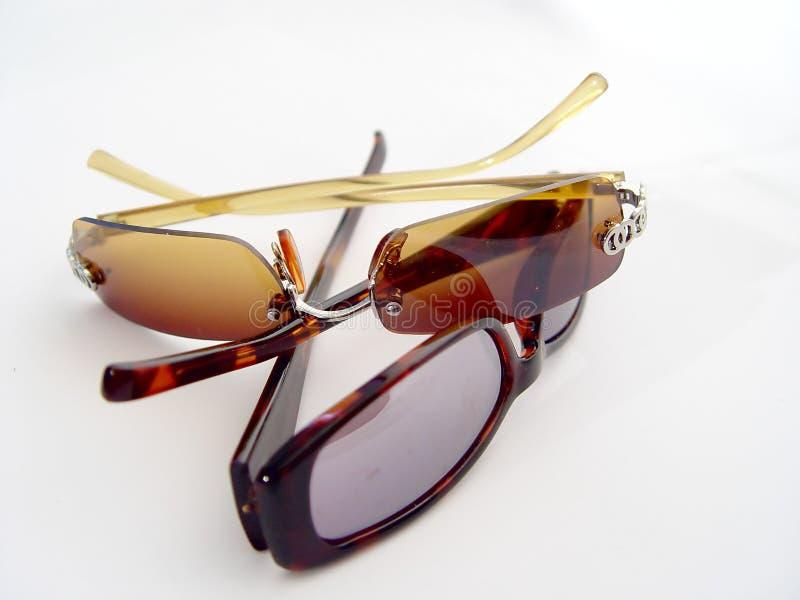 sparowanie okulary przeciwsłoneczne 2 zdjęcia stock