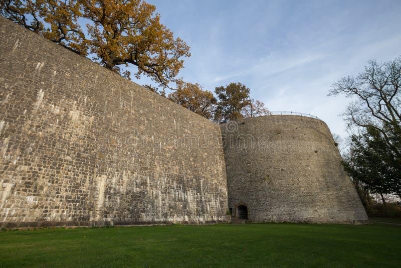 Sparrenburg slott bielefeld Tyskland royaltyfria bilder