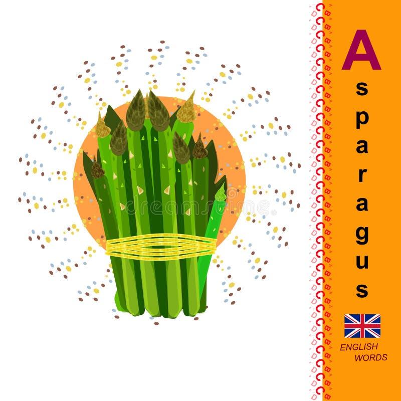 sparris använd teknologi för ta för bilder för foto för lampa för alfabetengelskafrysning var A Den första bokstaven i alfabetet vektor illustrationer