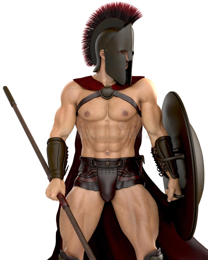 spartaans vector illustratie