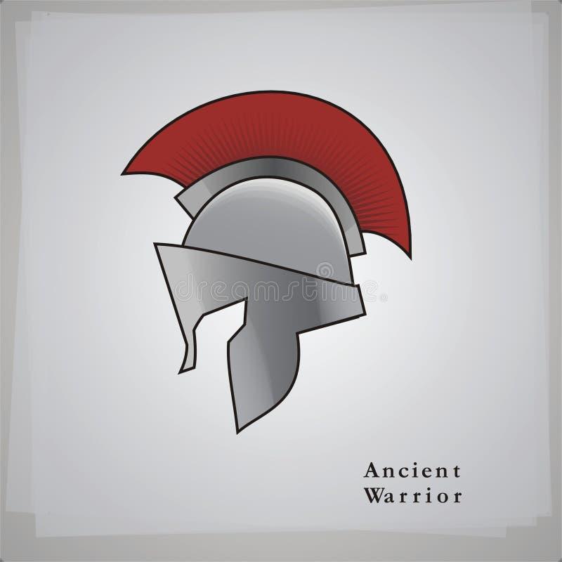 Spartaanse Helm stock foto's