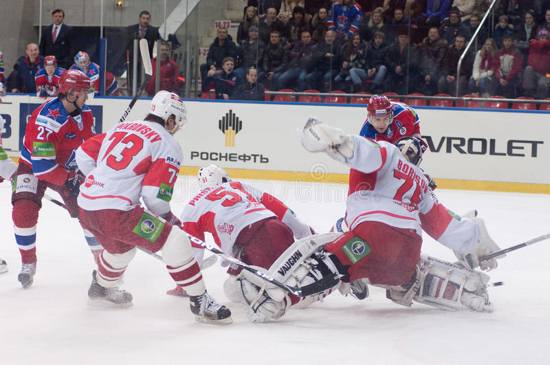 Spartak Under Atack Editorial Stock Photo