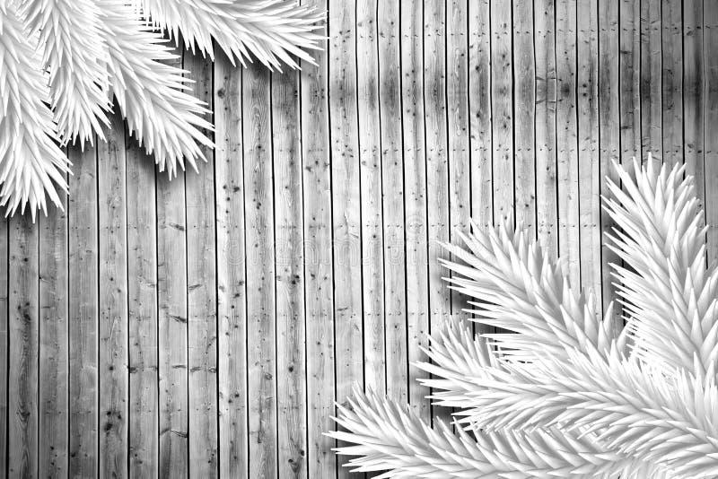Spartakken op houten planken royalty-vrije illustratie