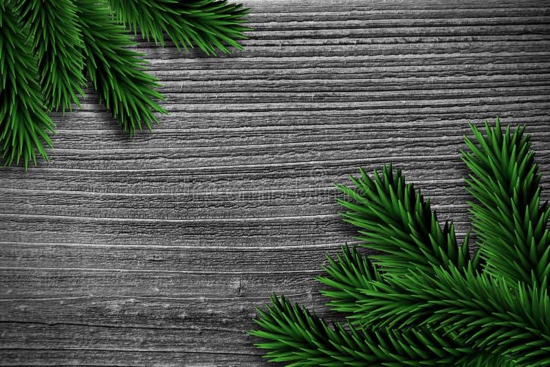 Spartakken op houten planken stock illustratie