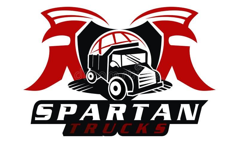 Spartan Truck globale illustrazione vettoriale