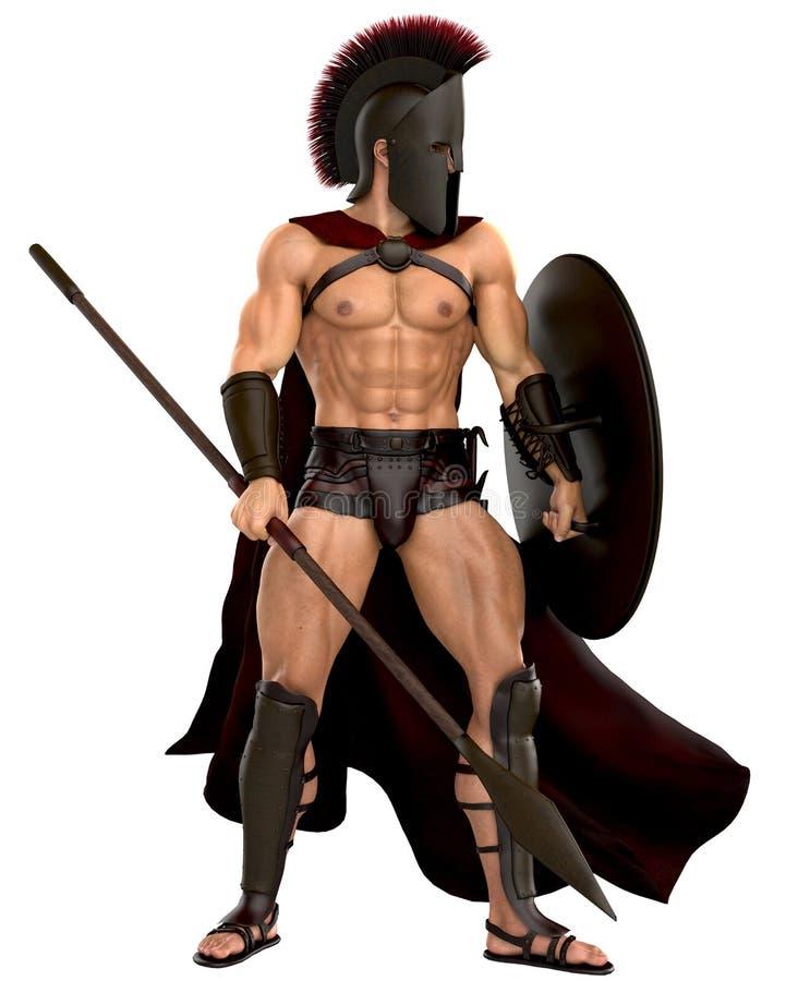 Spartanskt stående övre