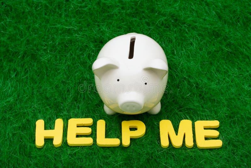 Sparungs-Hilfe lizenzfreies stockbild
