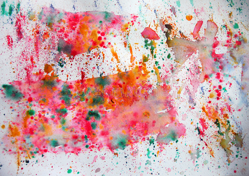 Spash art royalty free stock image