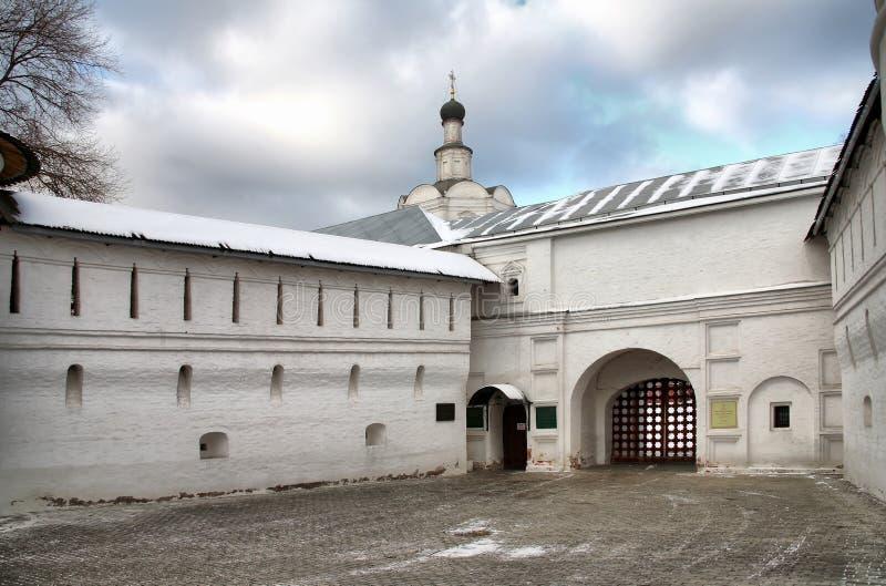 Spaso- Andronikov il monastero immagini stock libere da diritti