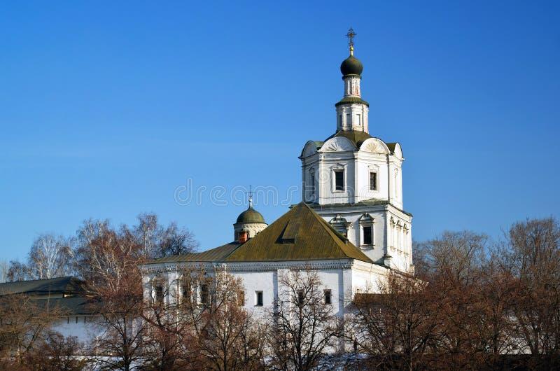 Spaso-Andronikovkloster in Moskau, Russland stockfotografie