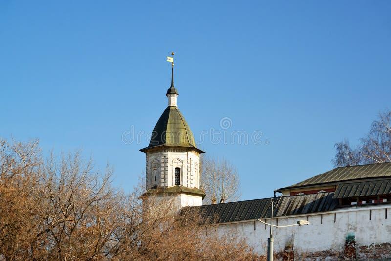 Spaso-Andronikovkloster in Moskau, Russland stockfoto
