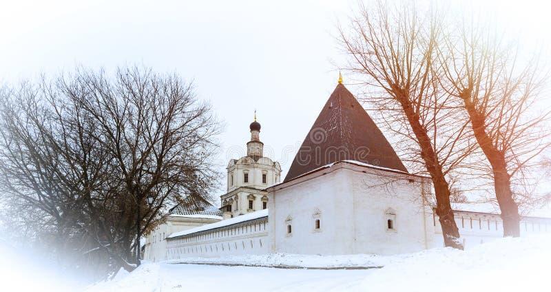 Spaso-Andronikovkloster, Moskau, Russland lizenzfreies stockfoto