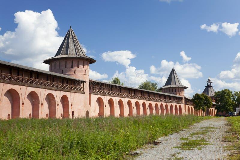 Spaso-Efimiev修道院。苏兹达尔。俄罗斯 免版税库存照片