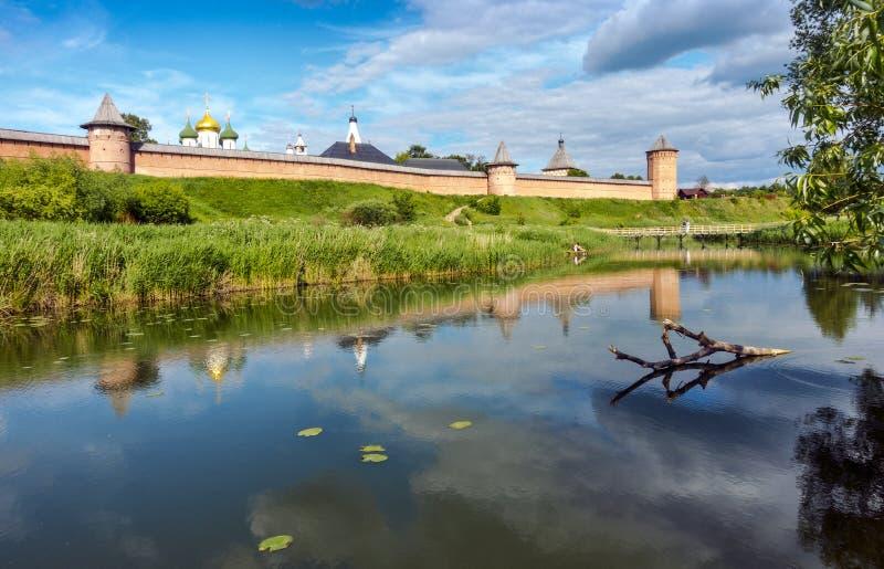 Spaso-Evfimiev monaster w Suzdal, Rosja fotografia stock