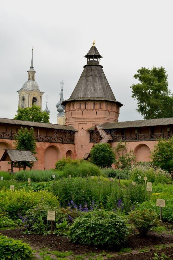 Spaso-Evfimiev` s Männer ` s Kloster ist eine Klosterfestung lizenzfreies stockbild