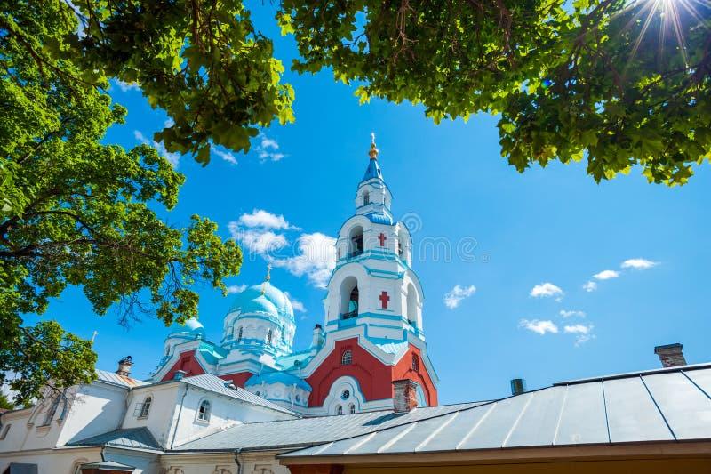 Spaso-Preobrazhenskiy kloster arkivfoton