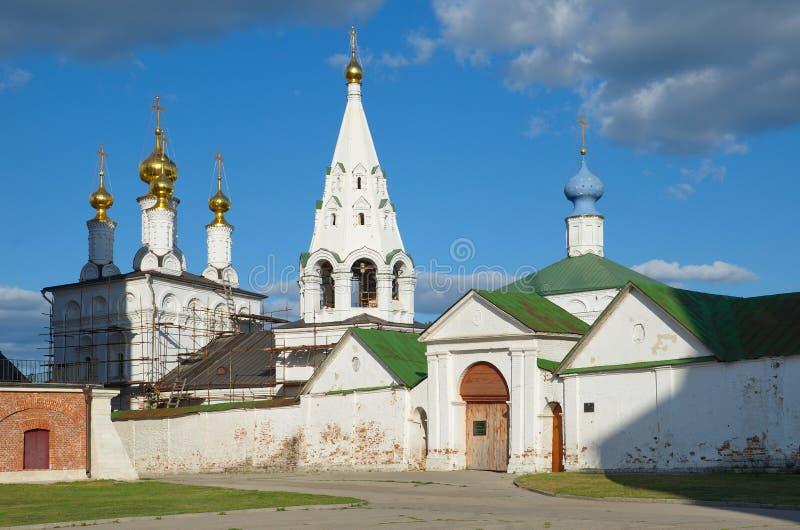 Spaso-Preobrazhensky修道院在梁赞,俄罗斯 免版税库存照片