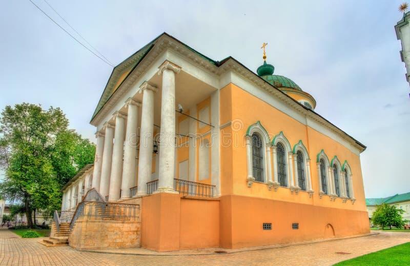 Spaso-Preobrazhensky eller omgestaltningkloster i Yaroslavl, Ryssland fotografering för bildbyråer