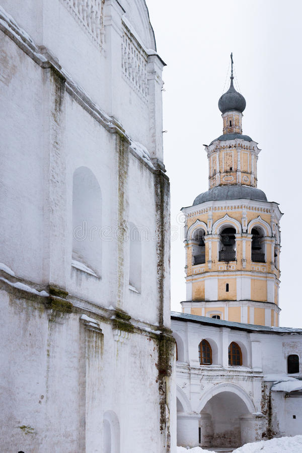 Download Spaso-Priluckiy Monastery In Winter. Vologda. Stock Photo - Image: 83716854