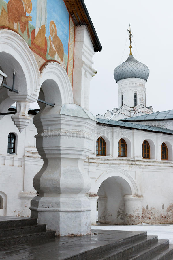 Download Spaso-Priluckiy Monastery In Winter. Vologda. Stock Photo - Image: 83709608