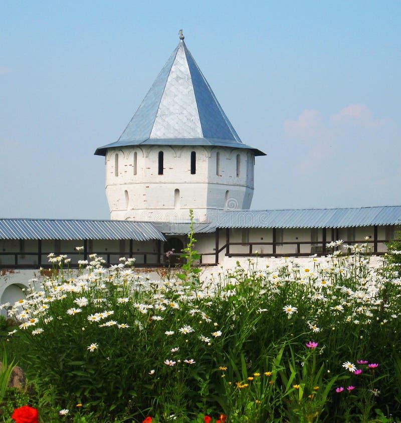 Spaso-Prilutskiy klooster, Vologda, Rusland royalty-vrije stock foto's