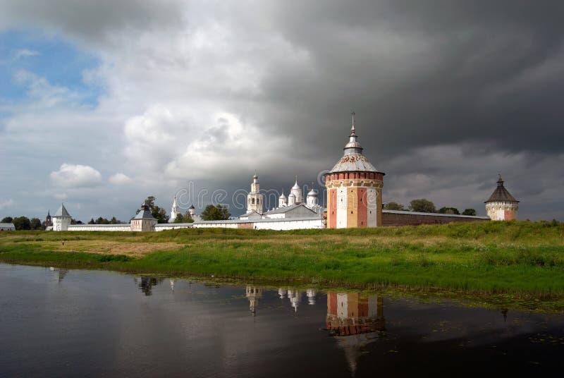 Spaso-prilutskiy Kloster stockbild