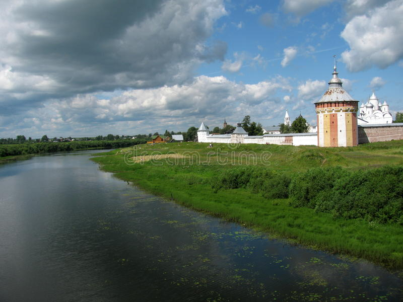 Spaso-Prilutsky Kloster lizenzfreies stockfoto