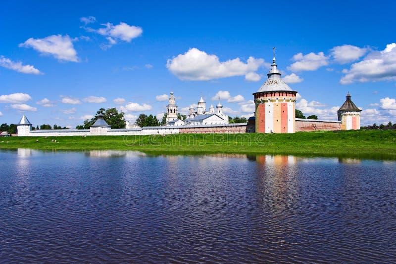 Download Spaso-Prilutsky monastery stock image. Image of clouds - 12823881