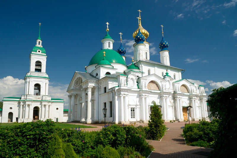 Spaso-Yakovlevsky Monastery in Rostov the Great royalty free stock photos