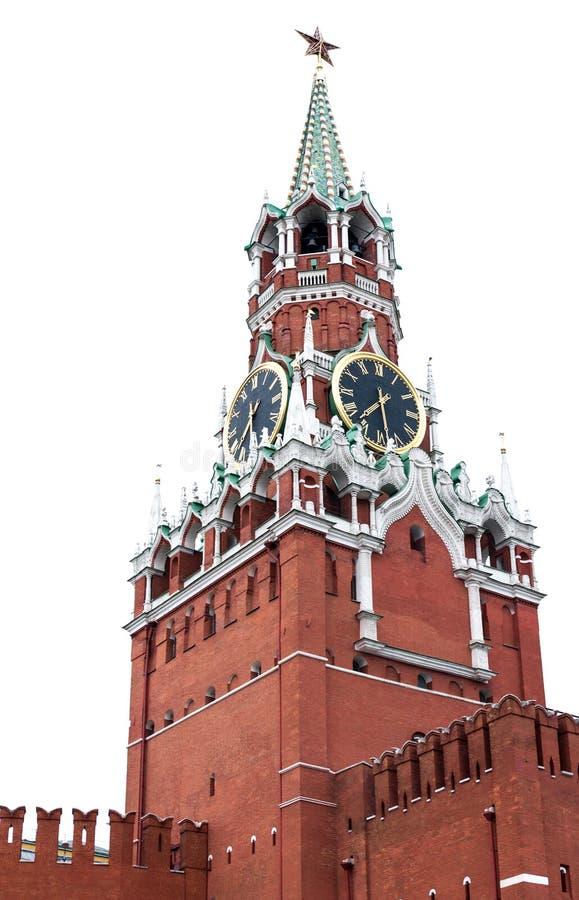 Spasskaya wierza obrazy royalty free