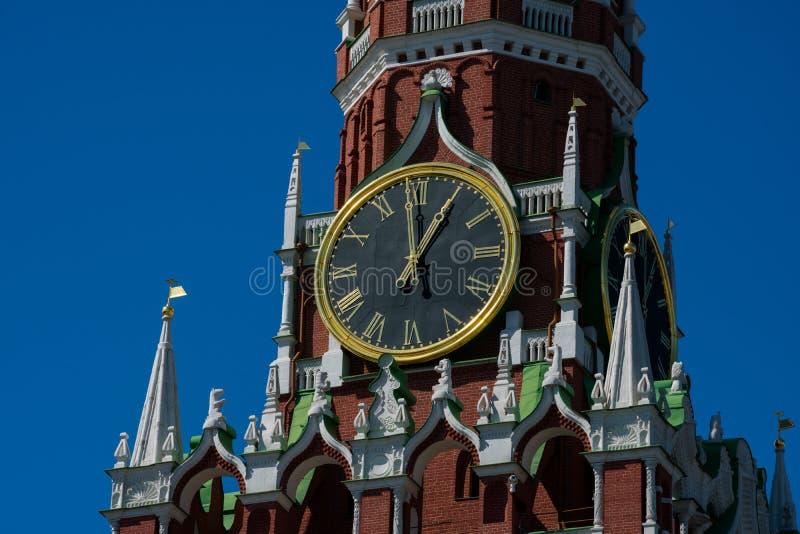 Spasskaya wierza wybawiciela wierza obrazy royalty free