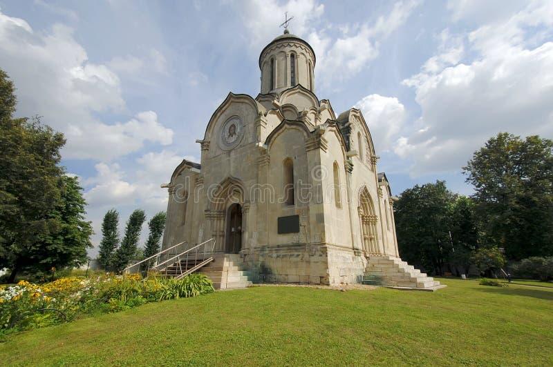 Spasskiy Temple of Andronikov Monastery royalty free stock image