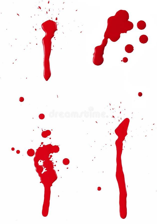 Spat II van het bloed stock illustratie