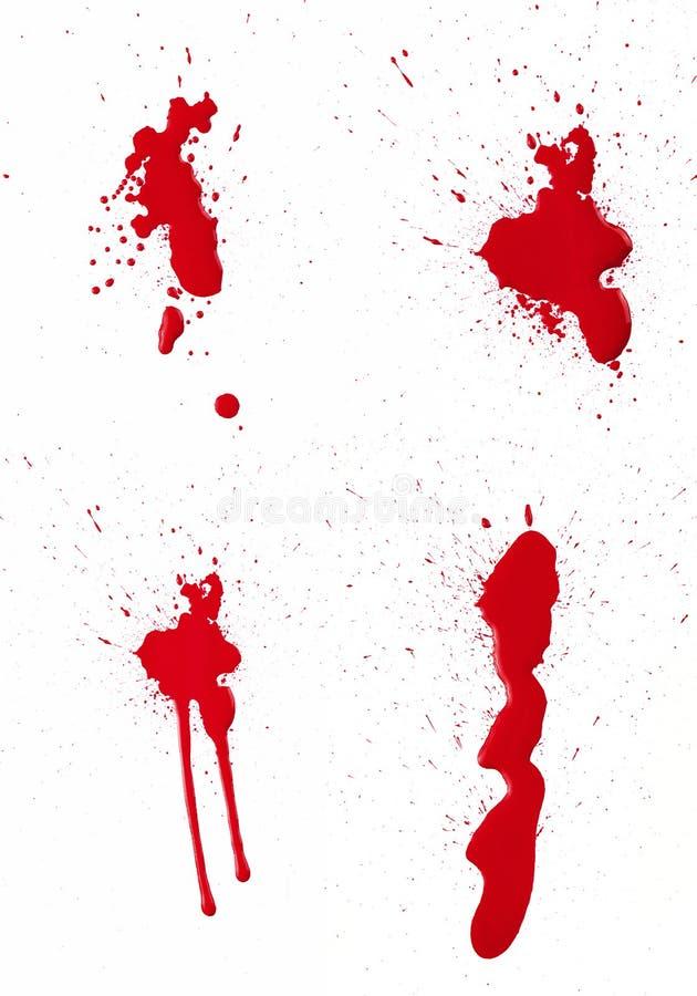 Spat III van het bloed stock illustratie