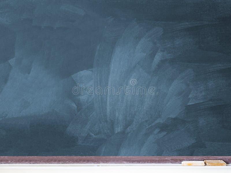 Spatie gebruikt bord op het klaslokaal, exemplaar ruimte klaar te vullen stock foto's