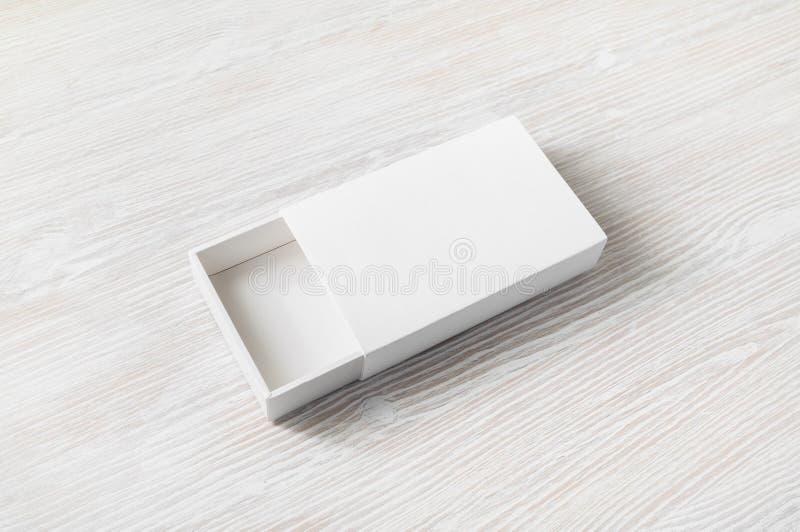 Spatie geopende doos stock foto