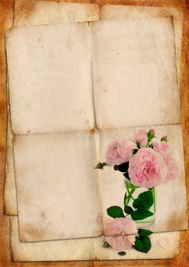 Spatie Voor Romantische Brief Stock Illustratie