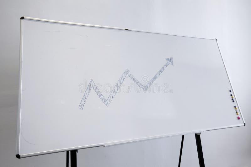 Spatie whiteboard stock afbeelding
