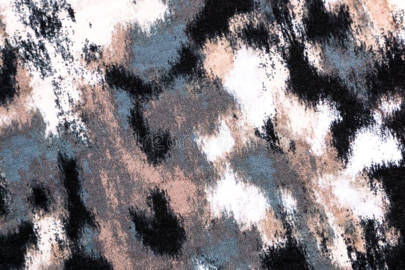 Spatter σχέδιο στο άνευ ραφής ύφασμα στοκ φωτογραφία με δικαίωμα ελεύθερης χρήσης